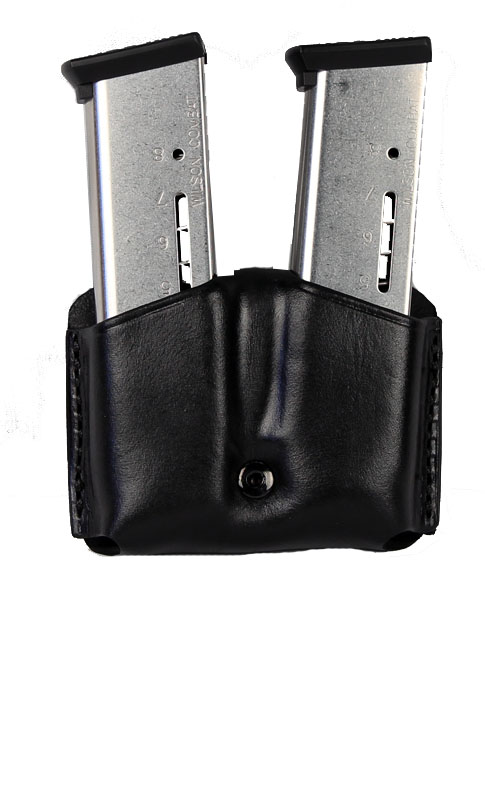 Ritchie Leather Double Mag Pouch - Glock 9mm, HK P30