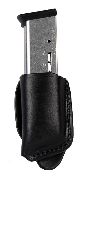 Ritchie Leather Single Mag Pouch - Glock 9mm, HK P30