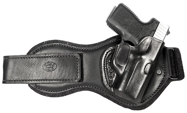 Ritchie Leather Ankle Holster - Smith-Wesson J Frame 1.875