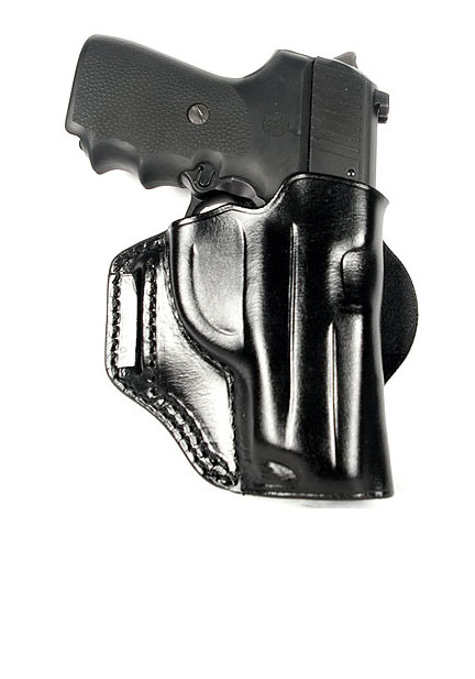 Ritchie Leather Vertical Speed Scabbard - Glock 26/27