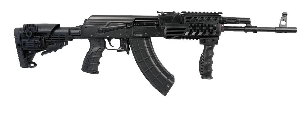 Izhmash RWC Modern Rifle 7.62X39, Black