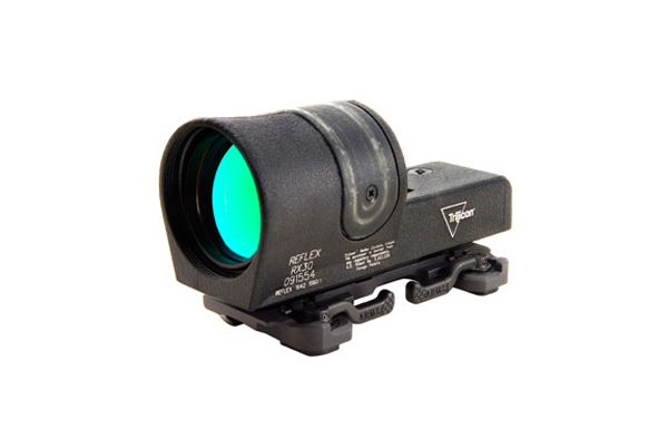 Trijicon RX30 with ARMS #15 Throw Lever Flattop Mount - REFLEX SIGHT