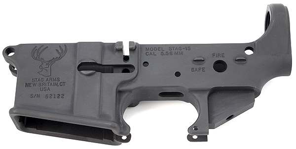 Stag Arms AR-15 5.56mm Lower Receiver - STRIPPED