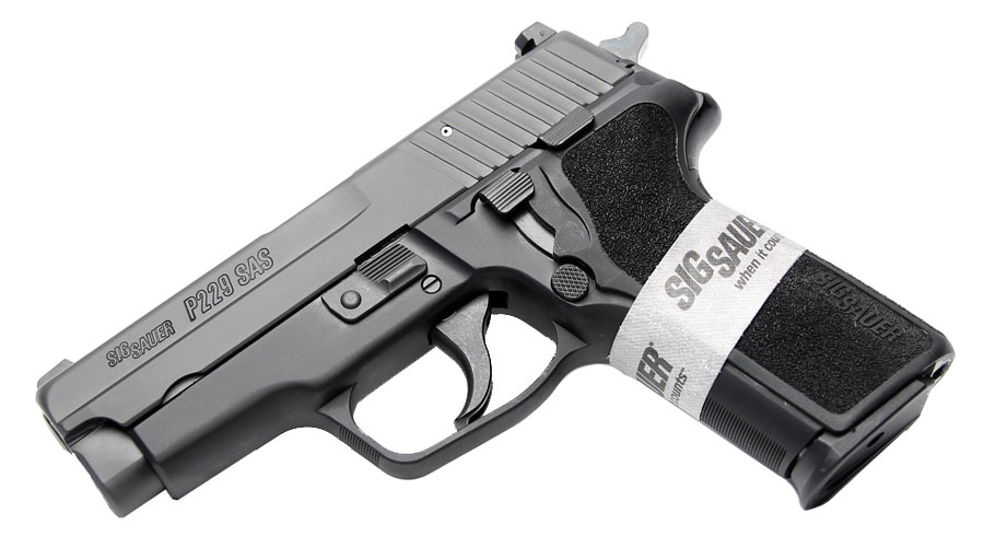 Sig Sauer P229 SAS Gen. 2, .357SIG, Nitron, SigLite Night Sights, DA/SA, SRT