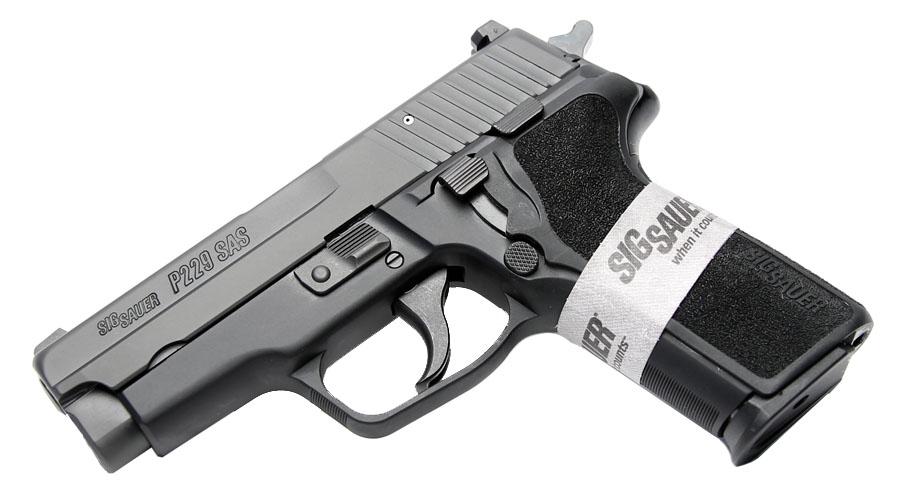 Sig Sauer P229 SAS Gen. 2, 9mm, Nitron, SigLite Night Sights, DA/SA, SRT