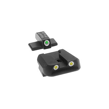 Trijicon Night Sight Set - All P Series Except P229 - NOVAK YELLOW REAR