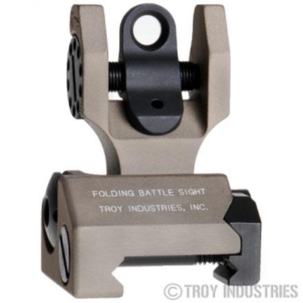 Troy Industries Rear Folding Battle Sight - FDE