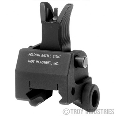Troy Industries M4 Front Gas Block Sight - BLK