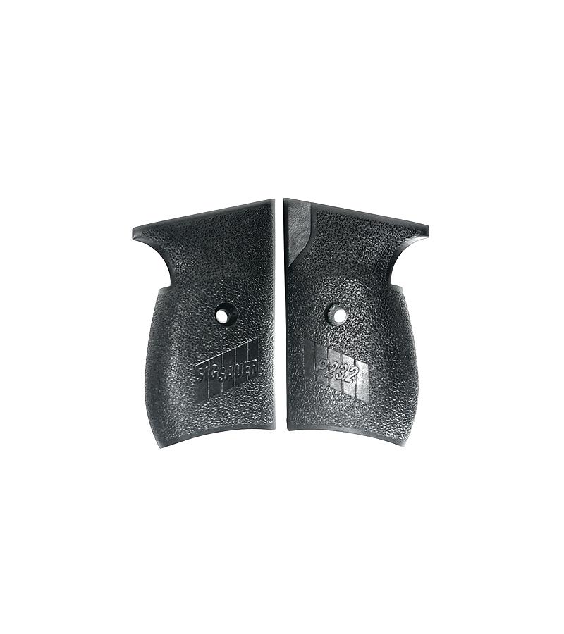 Sig Sauer P232 Grips, Black Polymer