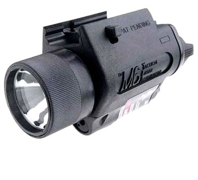 Insight Technology M6 Tactical Light with Laser - BLACK