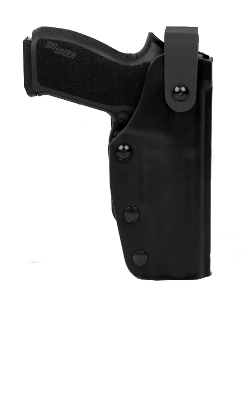 Gould & Goodrich Triple Retention Quantum Holster - SIG P226/P220 - Kydex/Leather