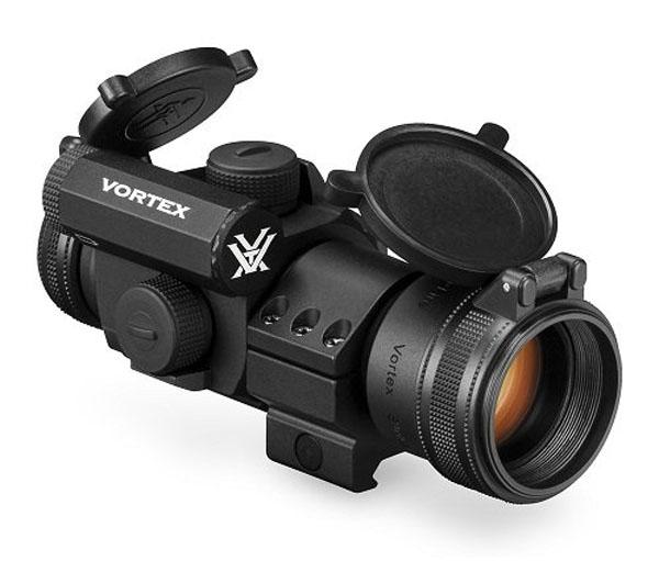 Vortex Optics StrikeFire II Red/Green Dot - Low Ring Mount - 4 MOA