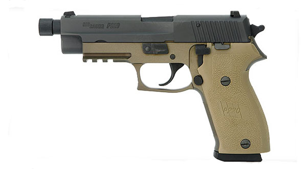 Sig Sauer P220R COMBAT .45 DA/SA, Nitron, Threaded BBL - IOP