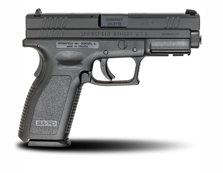 Springfield Armory XD9, Fixed Sights, 9mm, 4