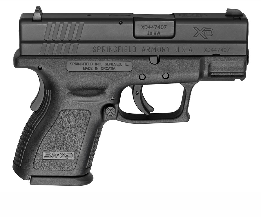 Springfield Armory XD40, Fixed Sights, .40, 3