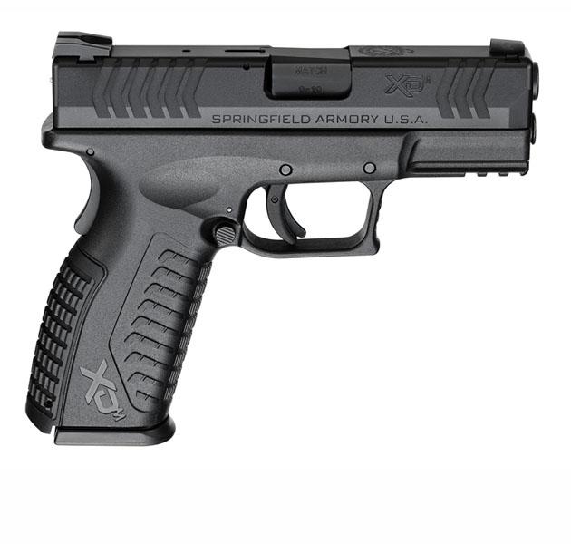 Springfield Armory XDM, 9mm, Fixed Sights, 3.8