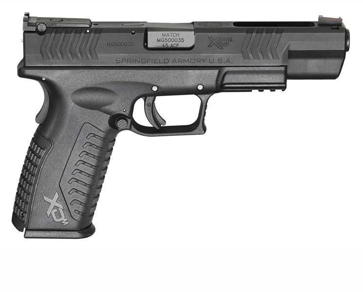 Springfield Armory XDM Competition, .45ACP, Adjustable Sights, 5.25