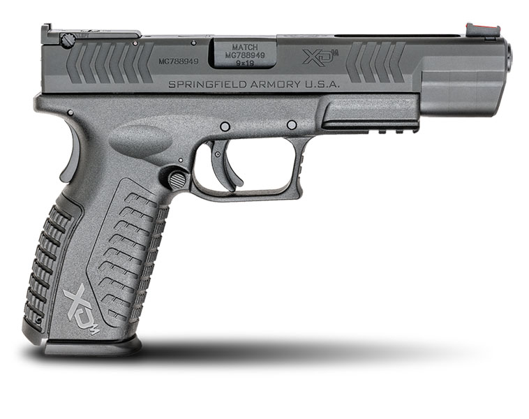 Springfield Armory XDM Competition, 9MM, Adjustable Sights, 5.25