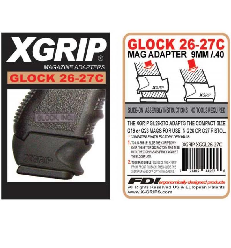 X-Grip - Glock 26-27 COMPACT